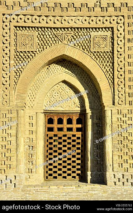 Uzbekistan, Unesco World Heritage Site, Bukhara, Ismail Samani mausoleum (10th C)