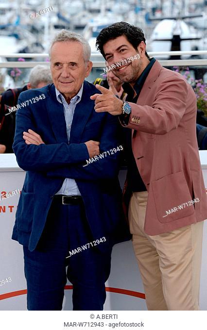 Pierfrancesco Favino, Marco Bellocchio Cannes, 24-05-2019 72nd Cannes Film Festival
