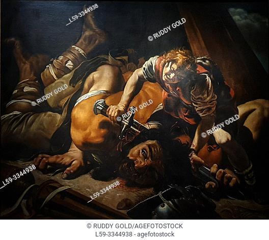 'David and Goliath', 1607/08, Orazio Borgianni (1578-1616)