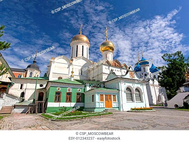 Great monasteries of Russia. Sergiev Posad