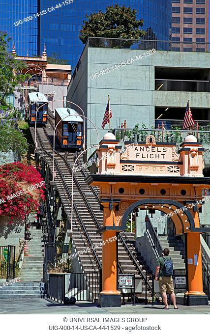 Angels Flight Funicular Railway