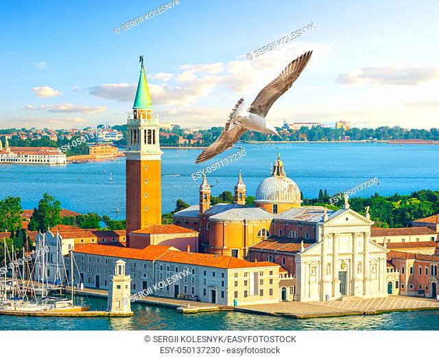 Cathedral of San Giorgio Maggiore in Venice, Italy