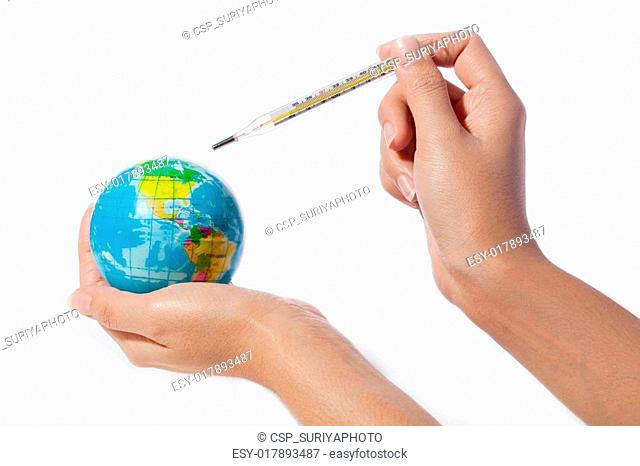 global warming, environmental protection against climate change concept