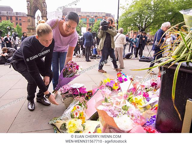 Atmosphere around Manchester after the terror attack Featuring: Atmosphere Where: Manchester, United Kingdom When: 24 May 2017 Credit: Euan Cherry/WENN