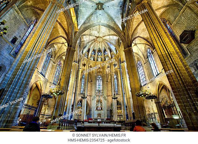 Spain, Catalonia, Barcelona, Barcelona's Cathedral