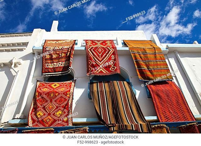 Kairouan Carpets. Medina of Kairouan. Tunez. Africa