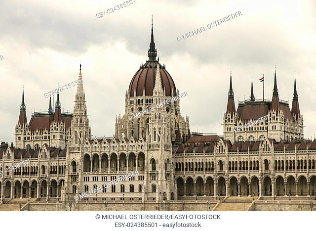 The Hungarian Parlament in Budapest, Europe