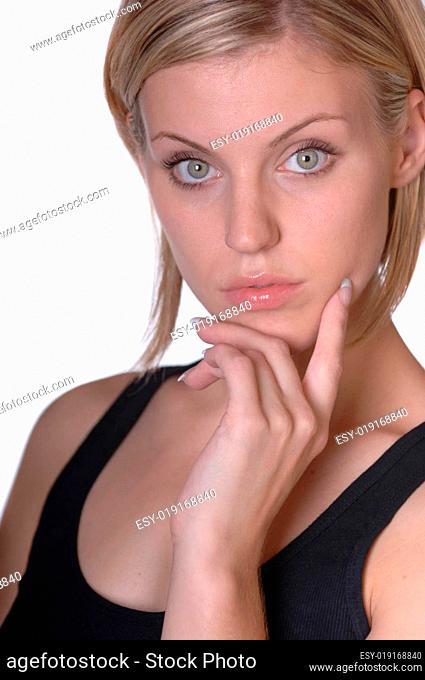 Schönes Jugendmodell