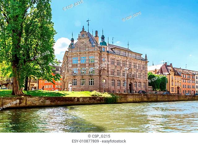 Historical buildings in Strasbourg, France. Europe