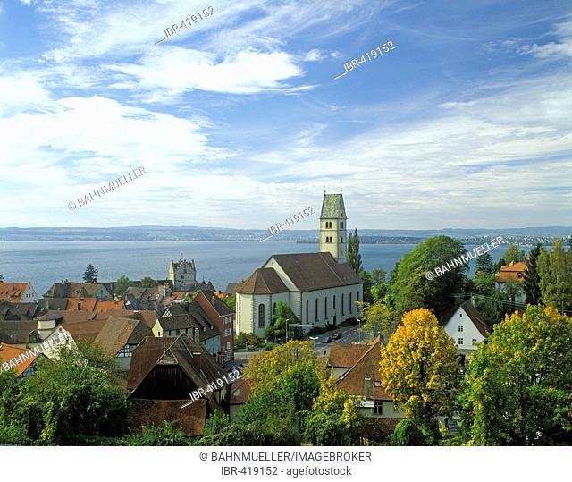 Meersburg upon Lake Constance Baden-Wuerttemberg Germany