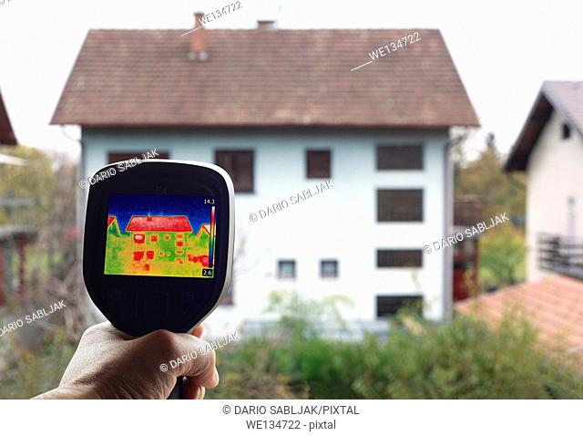Checkup Thermal Insulation of the home