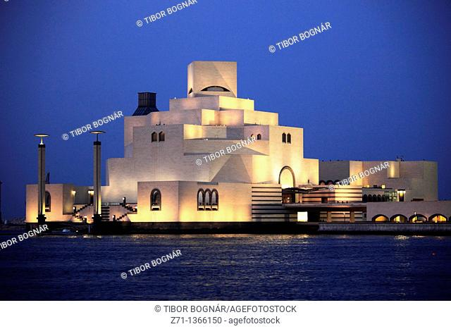 Qatar, Doha, Museum of Islamic Art, I M  Pei architect