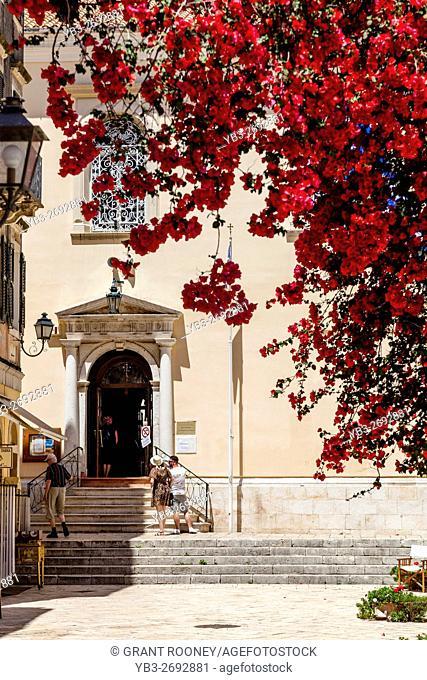 Saint Spyridon Church, Corfu Old Town, Corfu, Greece
