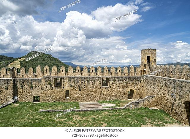 Castle of Frías, province of Burgos, Castile and Leon, Spain