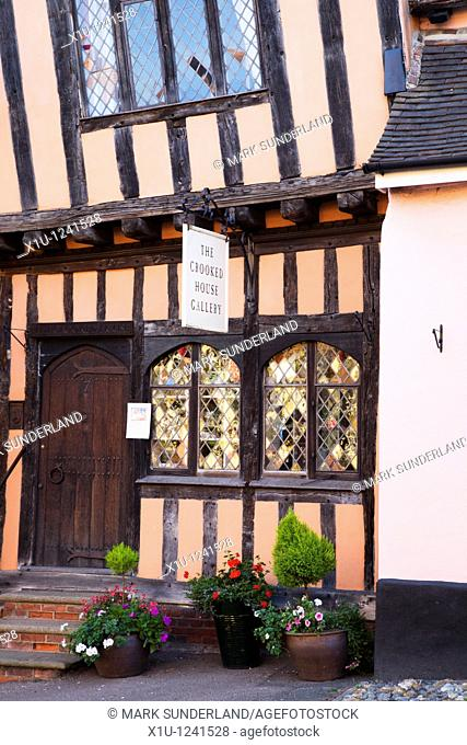 Crooked House Gallery Lavenham Suffolk England