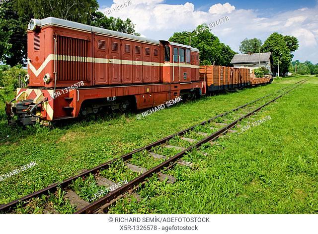 goods train, Bachorz, Poland