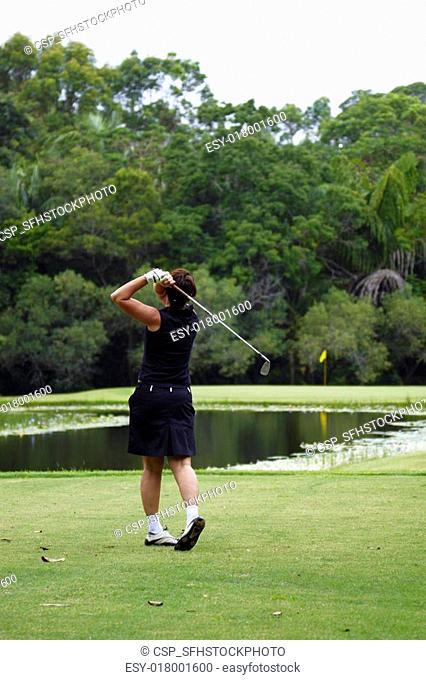 Noosa,Noosa Valley Country Club, golf course, Sunshine Coast, Queensland, Australia Noosa Valley Country Club, Golfplatz bei Noosa, Sunshinecoast, Queensland