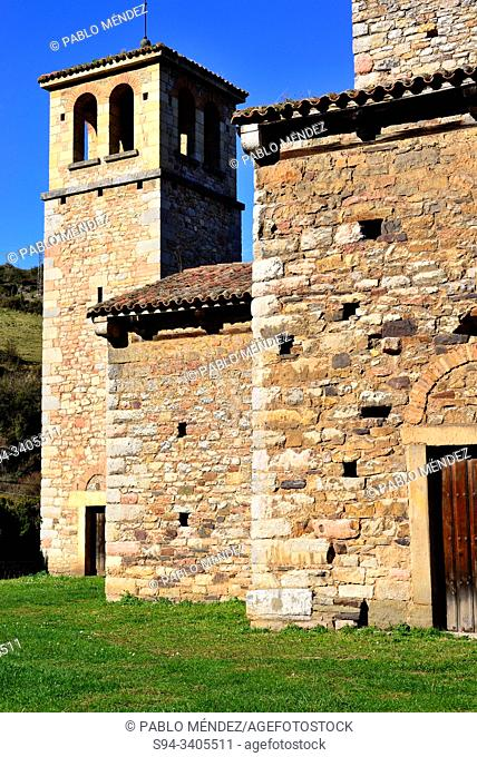 Pre-Romanesque church of San Pedro de Nora, San Pedro de Nora, Asturias, Spain