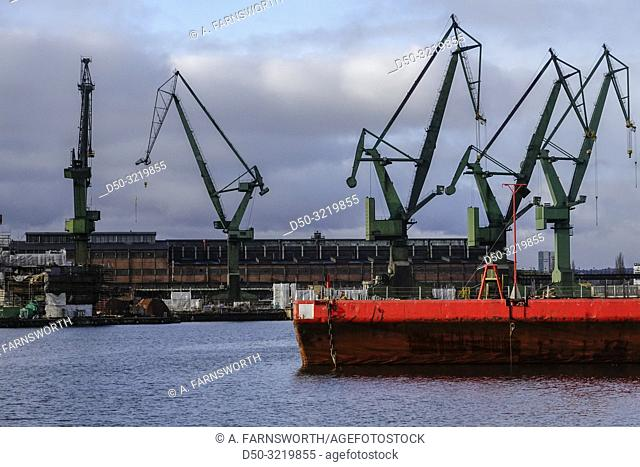 Gdansk, Poland A ship in the Gdansk shipyard known for the uprising of Solidarity in 1980 that prompted the demise of Communism is to be repurposed and...