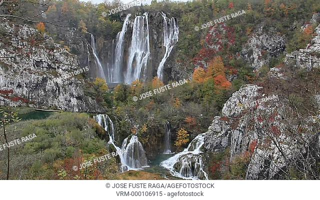 Croatia, Plitvice Lakes , National Park