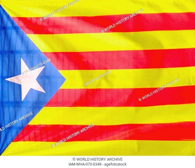 Catalan Flag, barcelona 2015