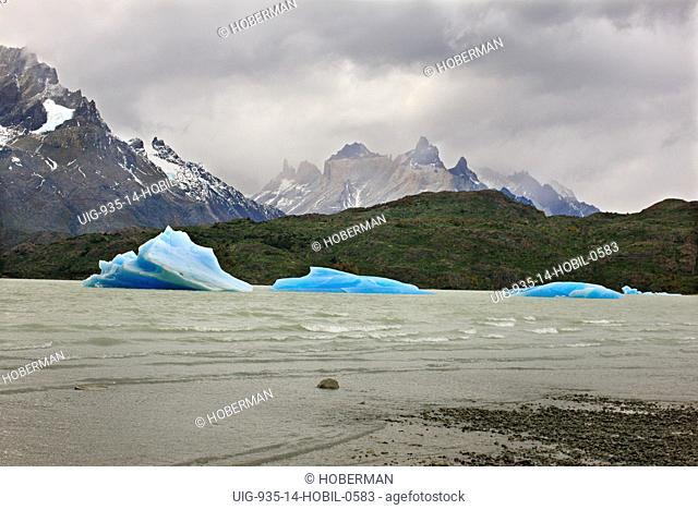 Icebergs, Patagonia, Chile