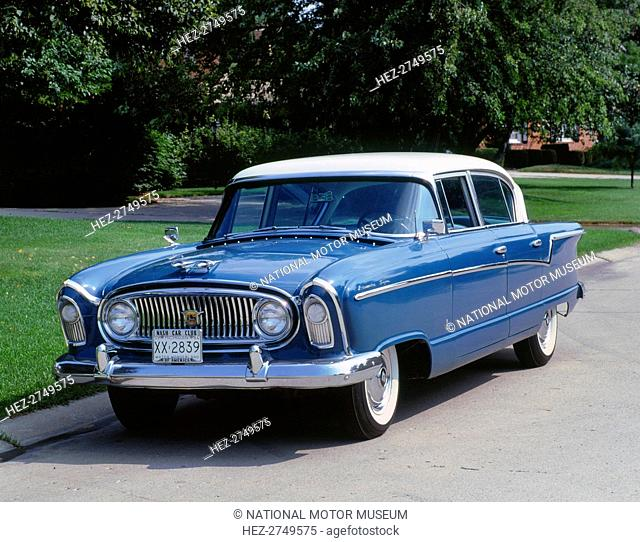 1954 Nash Metropolitan. Creator: Unknown