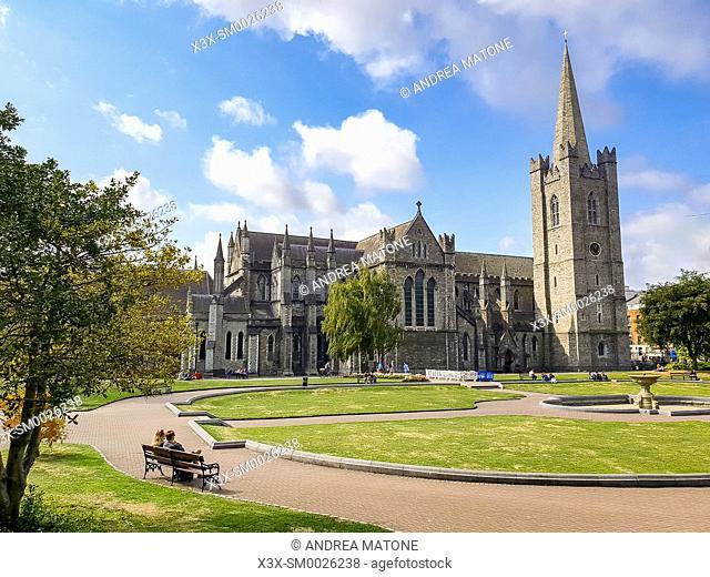 Saint Patrickâ. . s Cathedral, Dublin, Ireland, Europe