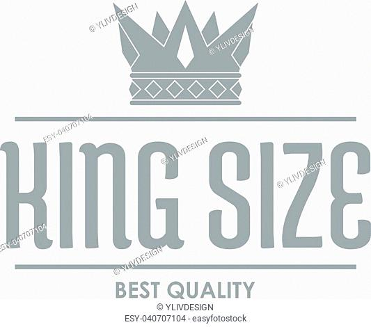 Crown gold logo. Simple illustration of crown gold vector logo for web