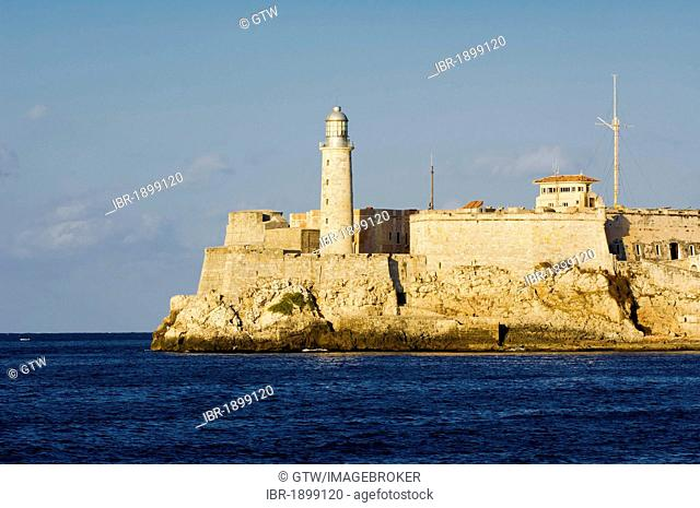 Castillo El Morro fortress, Old Havana, Unesco World Heritage Site, Cuba
