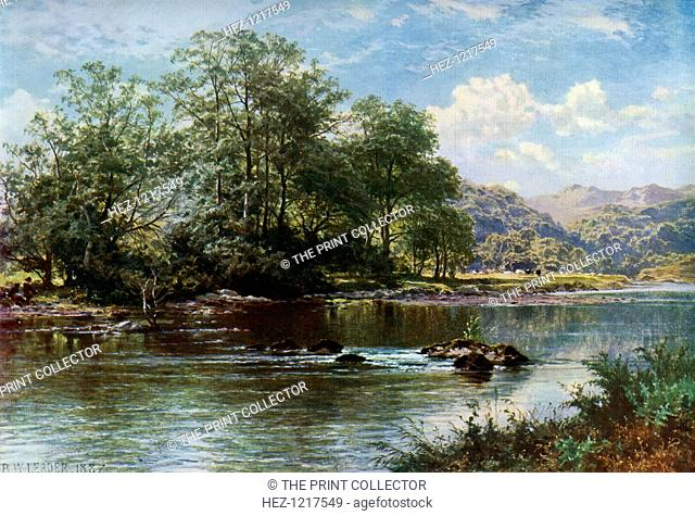 'The Stream in Summer Time', 1887, (1912). A colour print from Famous Paintings, with an introduction by Gilbert Chesterton, Cassell and Company, (London