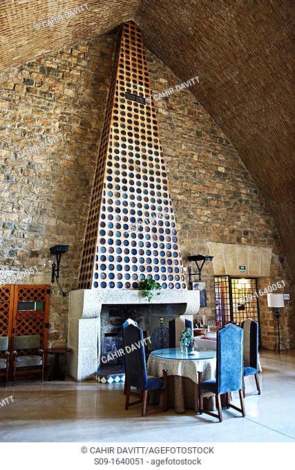 Spain, Andalucia, Cano Quebrado, Jaen, Interior view of the Parador located in Jaen