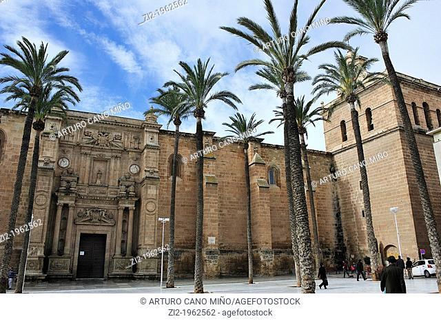 Cathedral of the Encarnacion. Almeria, Spain