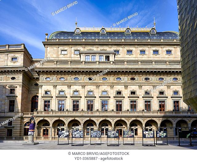 Prague Czech Republic. The National Theatre