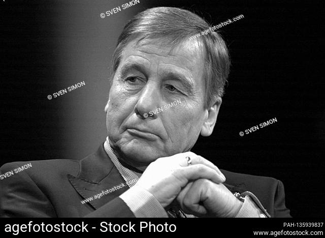 Former Federal Economics Minister Wolfgang Clement died at the age of 80. Archive photo: Wolfgang CLEMENT, SPD, Federal Minister of Economics