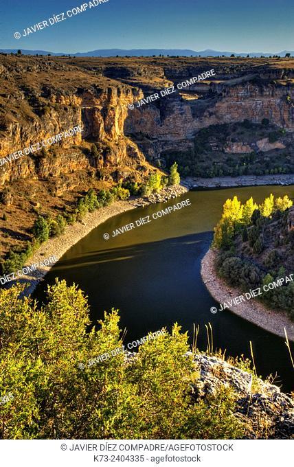Hoces del Duraton Natural Park. Segovia Province, Castilla y Leon. Spain