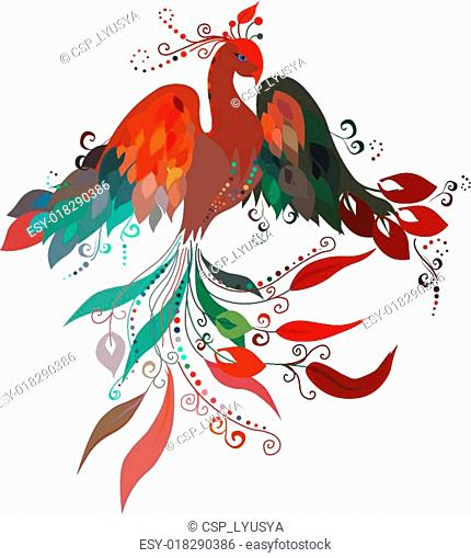 Firebird. Vector