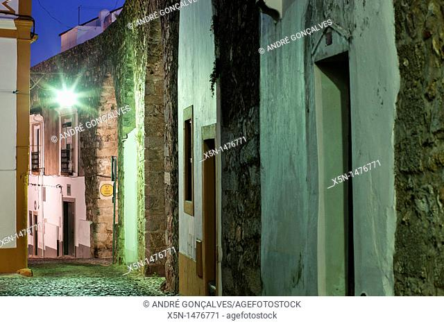 Cano Street, Evora, Portugal, Europe