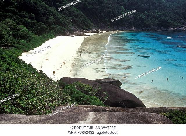 Beach of Similan Islands, Koh Payu Island, Andaman Sea, Thailand