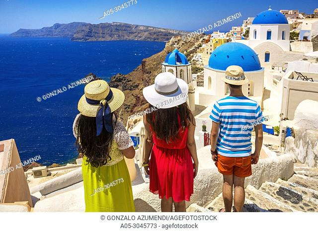 Oia. Santorini Island. Ciclades Islands. Greece
