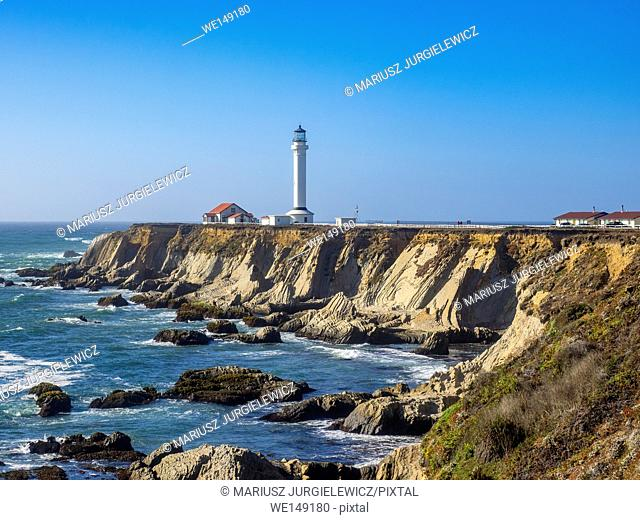 Point Arena Light is a lighthouse in Mendocino County, California, United States