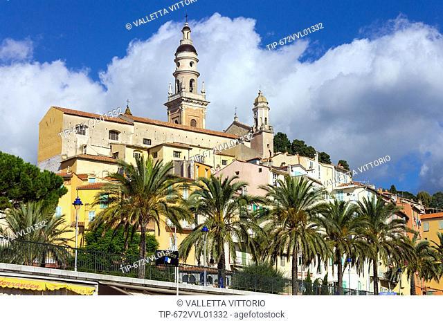 France, Cote d'Azur, Menton
