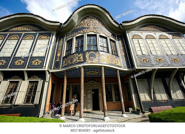Ethnographic Museum in old town, Plovdiv, Bulgaria