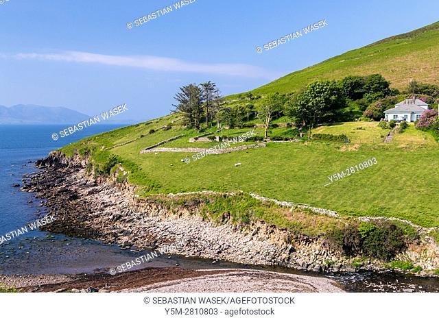Dingle Peninsula near Anascaul, County Kerry, Ireland, Europe