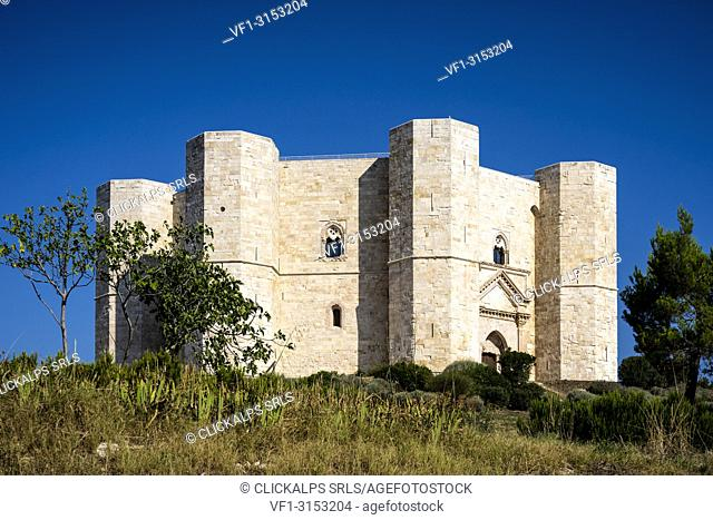 Castel del Monte, Andria, Apulia region, Bari province, Puglia, Italy, Europe