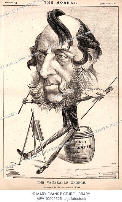 George Cruikshank (1792-1878) artist