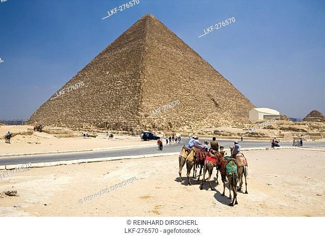 Pyramid of Cheops, Egypt, Cairo