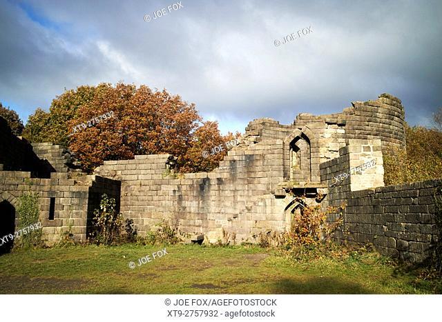 folly replica of Liverpool Castle in lever park rivington