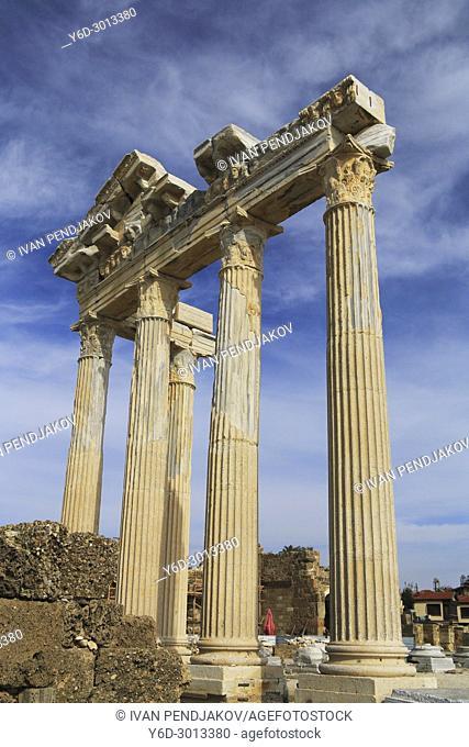 Temple of Apollo, Side, Antalya, Turkey