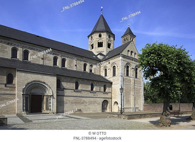 Monastery Knechtsteden, Delhoven, Dormagen, North Rhine-Westphalia, Germany, Europe